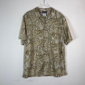 Columbia XCO Tropical Palm Tree Short Sleeve Shirt